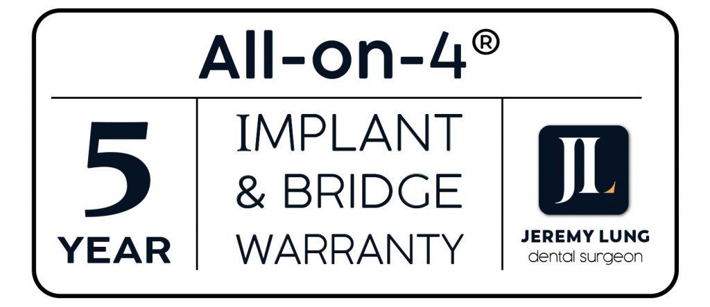 Dental Implant Warranty